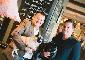 Royal Pug operators Nigel Pinegar (left) and Matt Crowther.