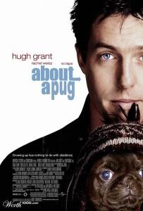 Hugh Grant with Pug